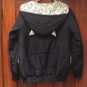 Jackets & Blazers - A la Sha button up, cat ear jacket